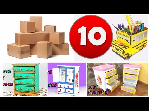 10-awesome-crafts-with-carton-boxes-simple-compilation-diy