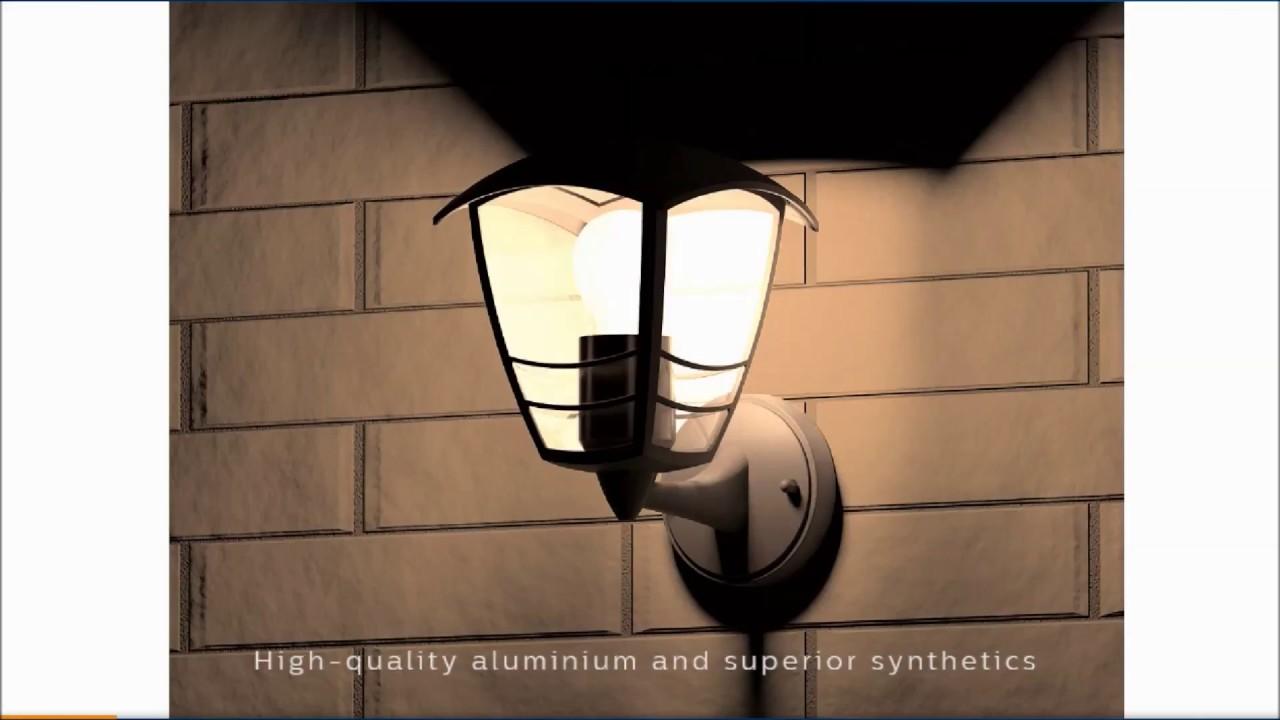 Super Philips 15380/30/16 | Philips Black Creek Wall Light 153803016 BP57