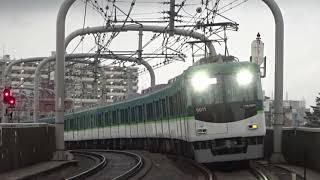 【ゆ~っくり通過】京阪6000系6011編成 寝屋川市通過