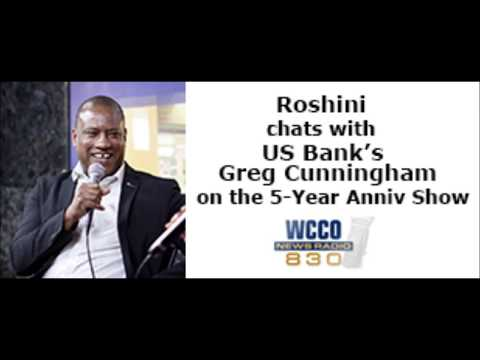 Roshini chats with Greg Cunningham US Bank's Head of Global Inclusion