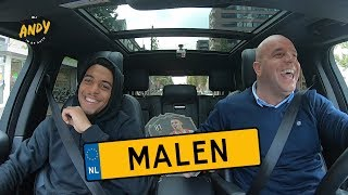 Donyell Malen - Bij Andy in de auto! (English subtitles)