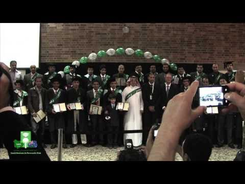 Saudi Students in Newcastle First Graduation Ceremony 2012