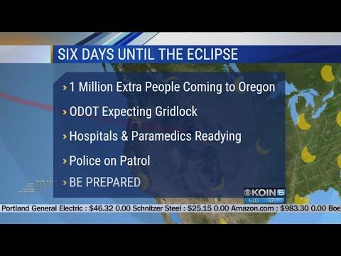 Oregon prepares for the eclipse
