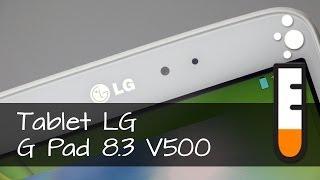 LG G Pad 8.3 tablet V500 - Resenha Brasil