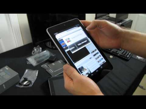 "ASUS Google Nexus 7 Android Jellybean 4.1 7"" Tablet Unboxing & First Look Linus Tech Tips"