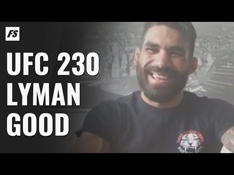 UFC 230's Lyman Good Talks Sultan Aliev Matchup, Layoff & Improvements To His Mental Game