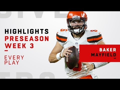 Every Baker Mayfield Play vs. Eagles