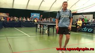 Albena Table Tennis Festival - 2014, junior finals, Fedotov Petr