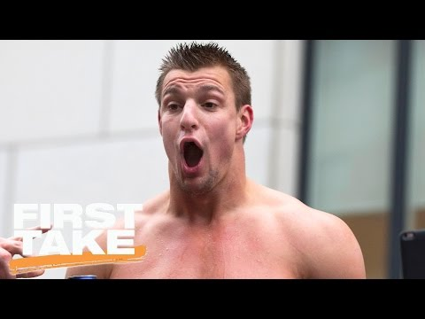 Is There A Double Standard With Rob Gronkowski? | First Take | April 6, 2017