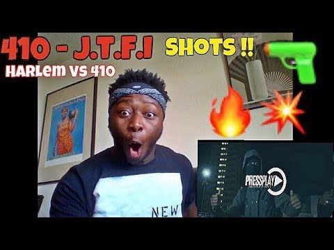 Took More Shots Than Messi|#410 Blackz X Y.AM X JaySlapIt - J.T.F.I(Harlem Spartans vs 410)-REACTION