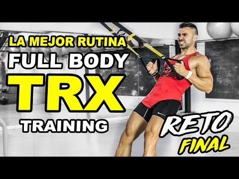 🔴⚡️ La Mejor RUTINA CON TRX TRAINING    TRX HIIT FULLBODY EN 20 MINUTOS