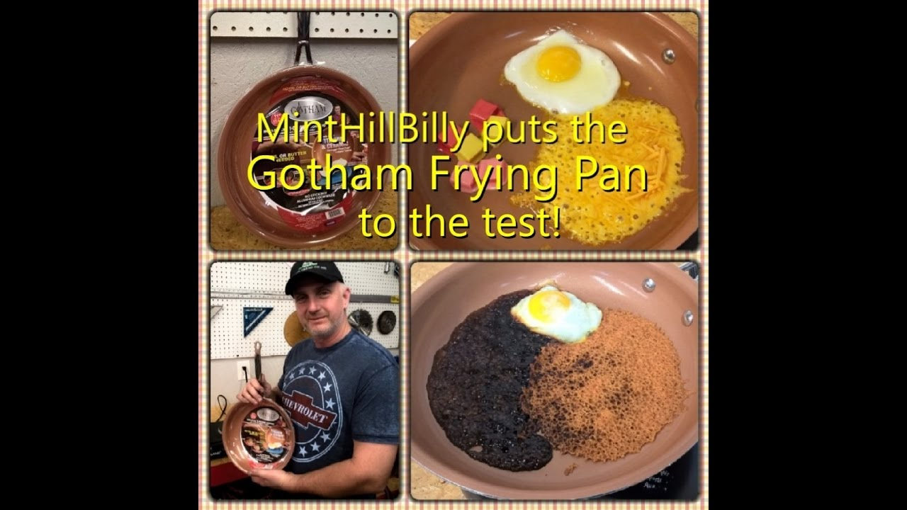 Gotham Steel Frying Pan We Put It To The Test Red Copper Anium Ceramic Coated