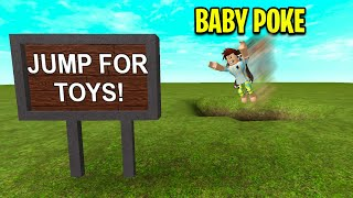 I Made A FAKE ROBLOX GAME To Catch BABY POKE!
