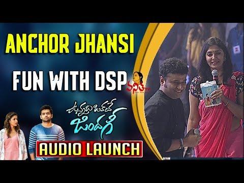 Anchor Jhansi Fun with DSP @ Vunnadhi...