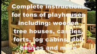 How To Build A Playhouse Out Of Wood | Wooden Playhouse Plans