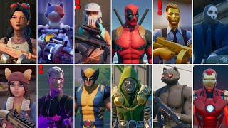 Fortnite All Bosses, Mythic Weapons, Vault Locations & Keycard! Fortnite Chapter 2 (Season 1 - 4)