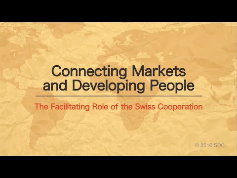 Connecting Markets and Developing People