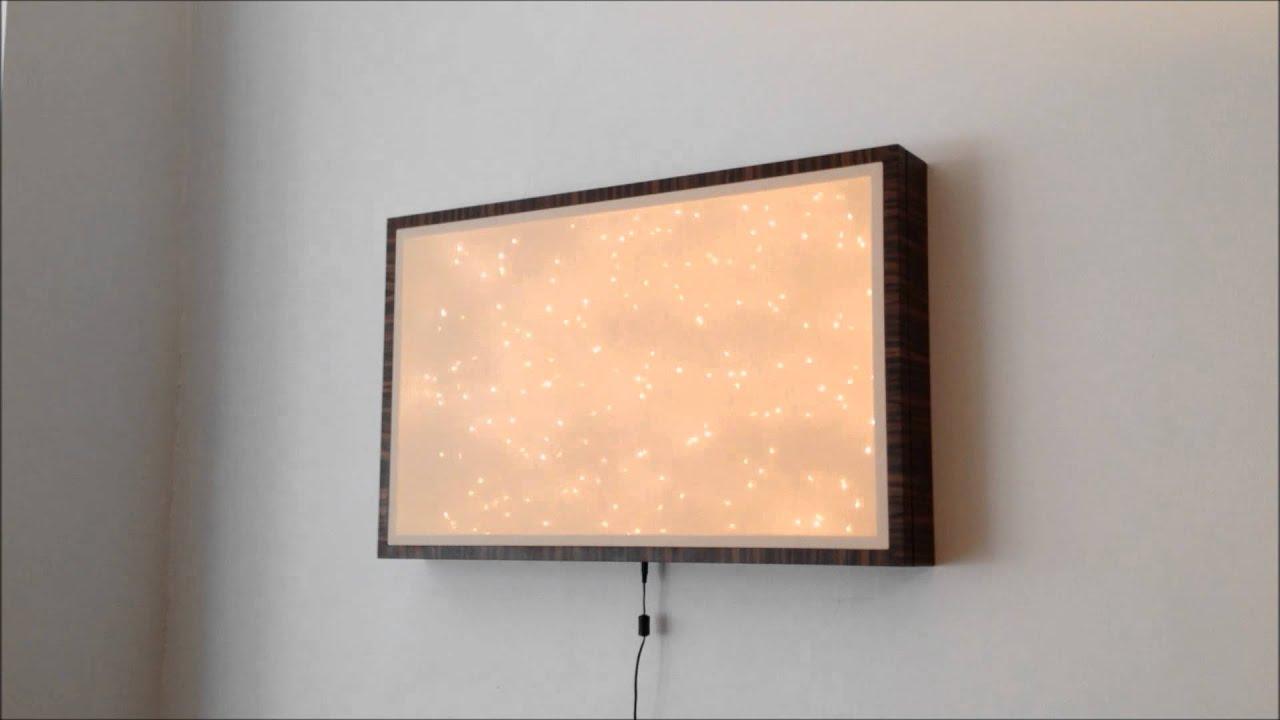 Wall light box 311954macassar ebony with remote dimmer wall light box 311954macassar ebony with remote dimmer youtube aloadofball Gallery