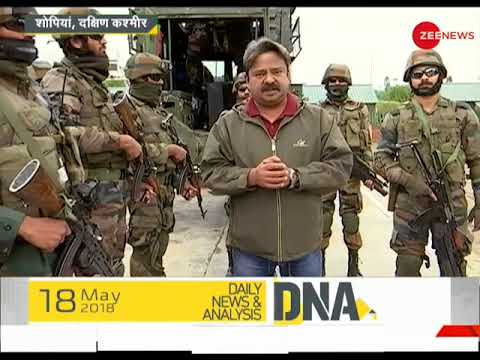DNA test to find the reason behind implementing conditional ceasefire in J&K