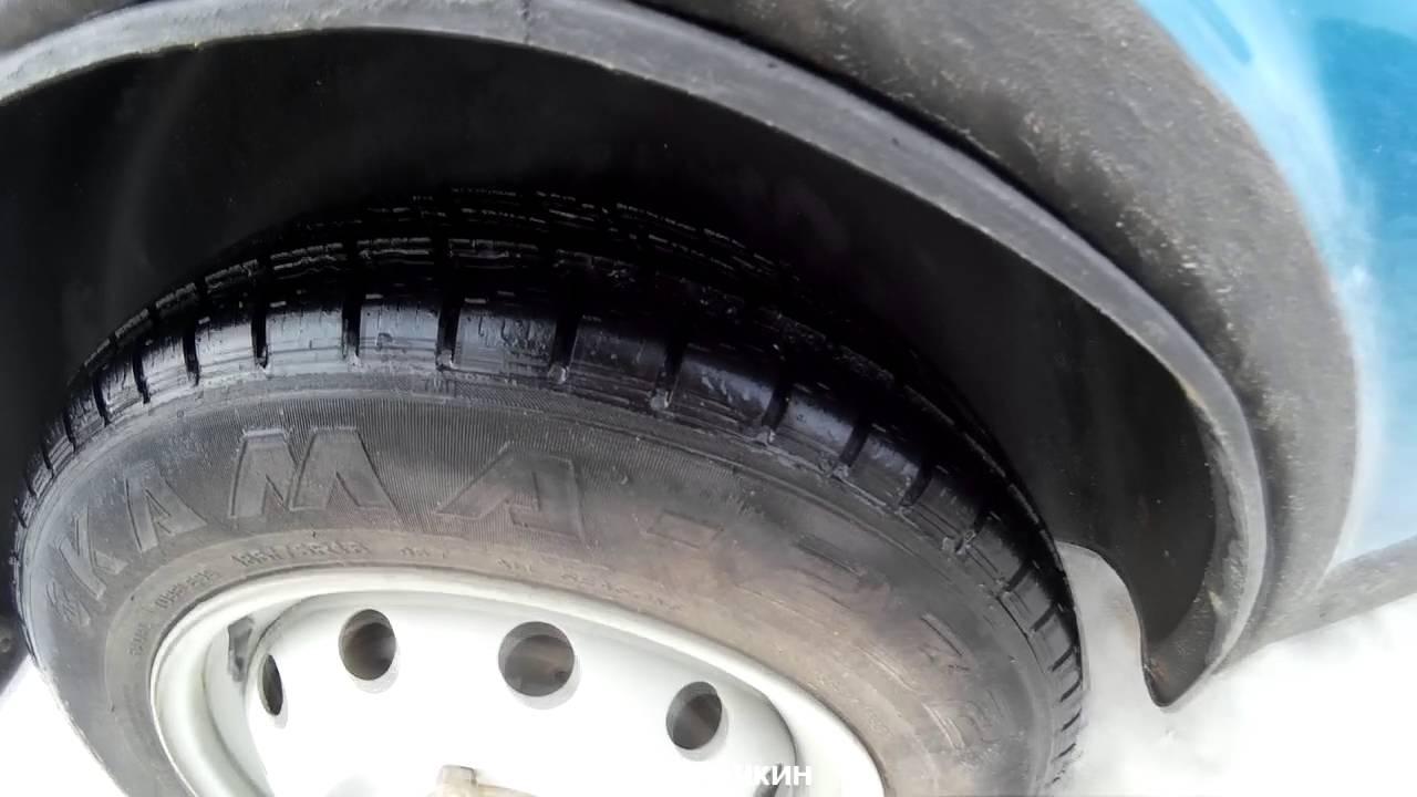 Шнива на 29х колеса в снегу пол метра, зимняя резина - YouTube