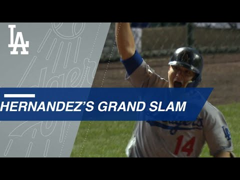 Enrique Hernandez cranks a monumental grand slam in NLCS clincher