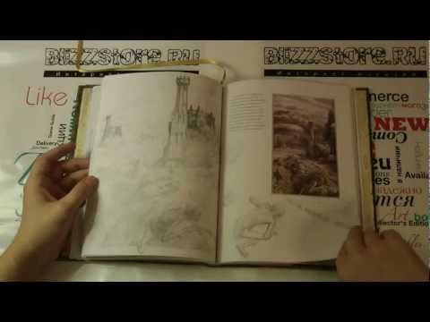 Книга-the-lord-of-the-rings-sketchbook
