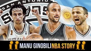 Second Round Pick To A Spurs LEGEND! The Story of Manu Ginobili