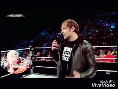 WWE Alexa & dean Ambrose / body heat MV