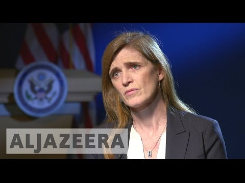 Outgoing US ambassador to the UN Samantha Power talks about Syria, Putin and Trump