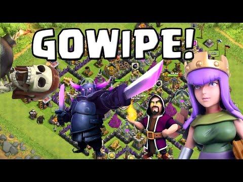 GOWIPE - TAKTIK! || CLASH OF CLANS || Let's Play COC [Deutsch German HD Android Apple PC]