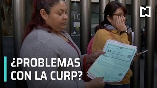 Fallas en trámite de CURP vía internet - En Punto