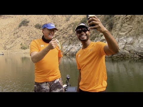 Paul George Celebrity Bass Fishing Tournament From Lake Castaic, California
