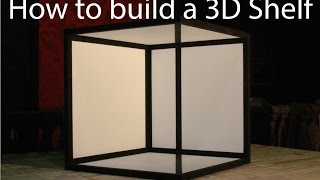 How To Build A 3d Shelf
