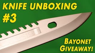 BAYONETS and SWITCHBLADES | Knife Unboxing #3