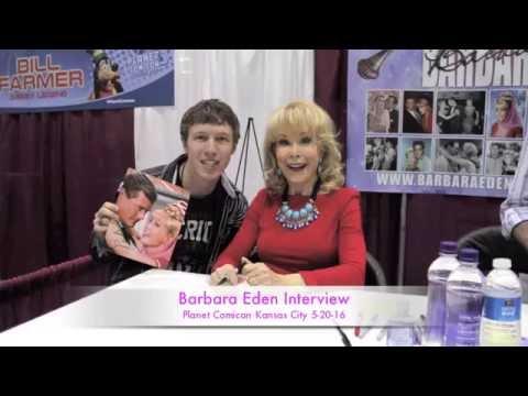 Barbara Eden Interview Kansas City Comicon 2016