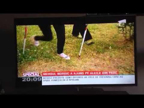 Nordic Walking Romania la Observator Antena 1