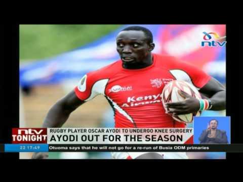 Rugby player Oscar Ayodi to undergo knee surgery