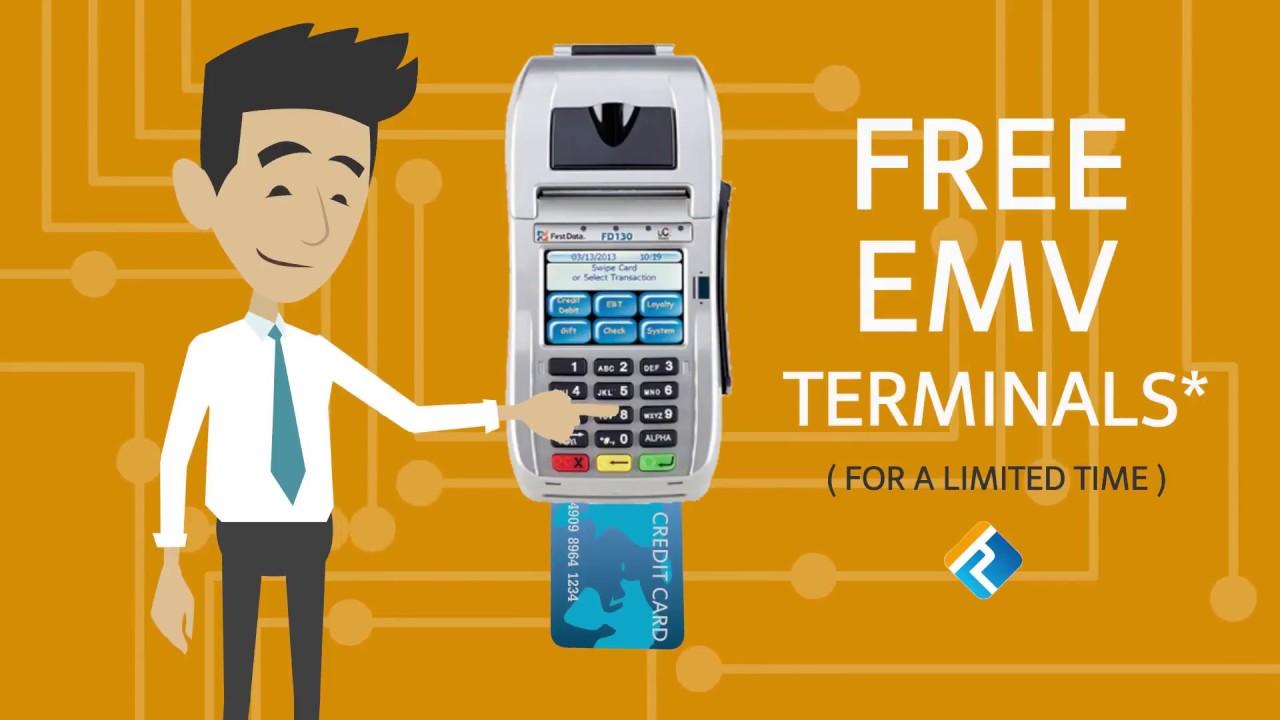 Verifone VX520 EMV Contactless Credit Card Terminal