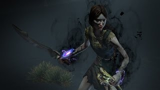 Path of Exile - Gloom Herald Effect