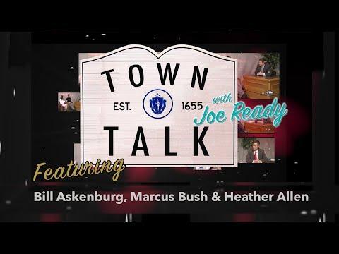Town Talk featuring Bill Askenburg, Marcus Bush, Heather Allen - May 7, 2018
