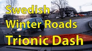 Slippery Swedish Winter Roads Accidents And Incidents Trionic Dash Episode 1