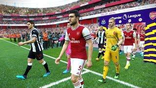 Newcastle vs Arsenal (PEPE Scored a Goal) EPL 11 Aug 2019 | PES 2019