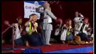 Ancient language of Nepal [Kirat Khaling Rai children perfoming cultural dance]