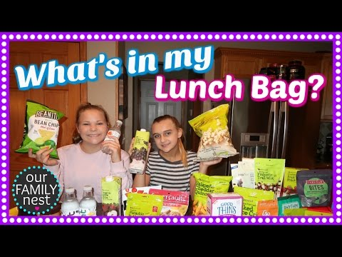 WHAT'S IN MY LUNCH BAG? QUICK & HEALTHY SCHOOL LUNCH IDEAS