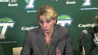 Tulane Women's Basketball: UConn Post Game Press Conference