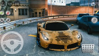 Real Parking|Real Car Parking 2 Driving School 2018 #18 Ferrari LaFerrari  - Android Gameplay