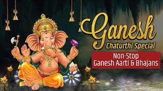 Ganesh Chaturthi Special Nonstop Aarti & Bhajans   टॉप 10 गणपति जी के गाने