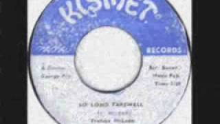 Freddie McKay - So Long Farewell