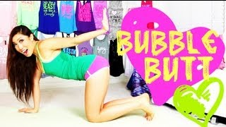 Video Bubble Butt (Clenching my Booty) Workout | POP Pilates for Beginners download MP3, 3GP, MP4, WEBM, AVI, FLV Juli 2018