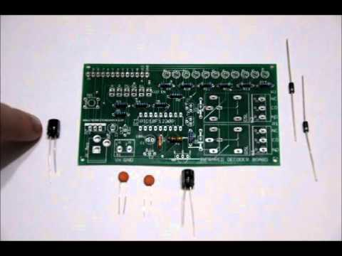 The 10-Bit Infrared IR Learning Board DIY Kit Assembly Video